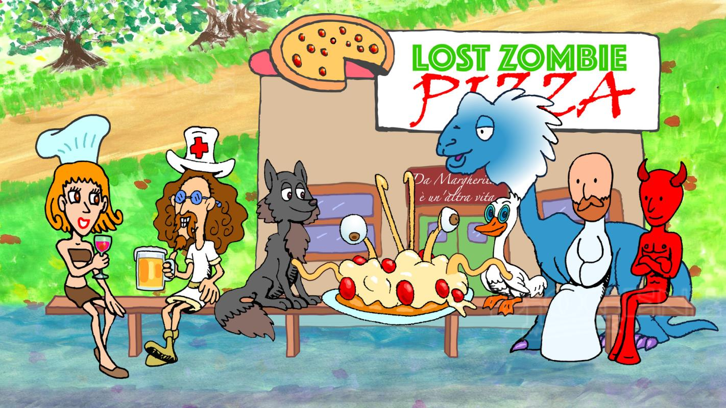 Lost zombie pizza